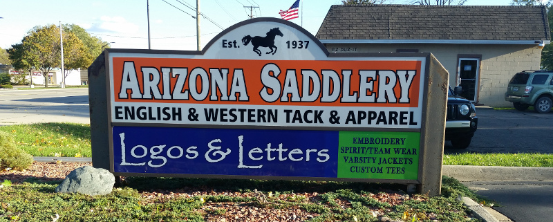 Arizona Saddlery Signage