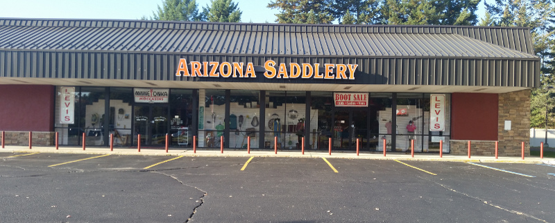 Arizona Saddlery Store Front